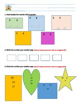 Compariing numbers to 10