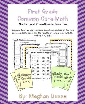 Comparing 2 Digit Numbers- 1.NBT.B.3
