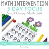 Comparing 2 Digit Numbers | 1st Grade Small Group Math Int