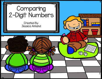 Comparing 2-Digit Numbers Game