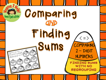 Comparing 2-Digit Numbers: Halloween Math