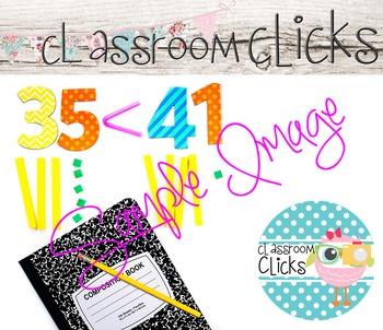 Comparing 2 Digit Numbers Image_216:Hi Res Images for Bloggers & Teacherpreneurs