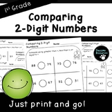 Comparing 2-Digit Numbers-Place Value Student Pages (First Grade, 1.NBT.3)
