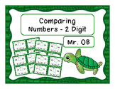 Comparing 2 Digit Numbers - Task Cards