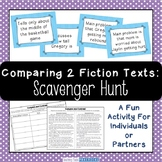 Comparing 2 Fiction Texts Scavenger Hunt - Fun Compare and Contrast Activity