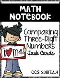 Comparing 2 Three-Digit Numbers:  Math Notebook CCS 2.NBT.A.4