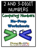 Comparing 2 and 3 Digit Numbers