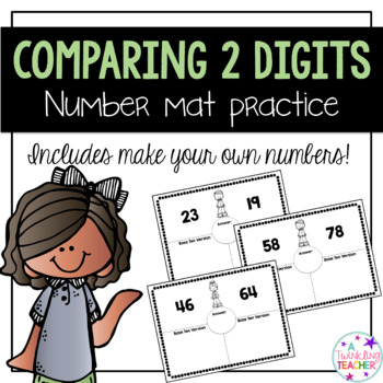 Comparing 2 digit numbers mat