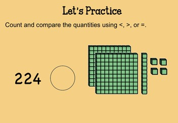 Comparing 3-Digit Numbers SMARTNotebook Lesson