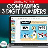 Comparing 3 Digit Numbers Digital Activity