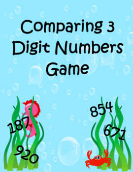 Comparing 3 Digit Numbers Game