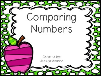 Comparing 3 Digit Numbers Game or Center