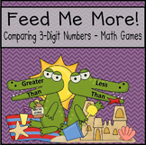 Comparing 3-Digit Numbers (Greater/Less Than)
