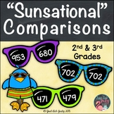 "Comparing 3 Digit Numbers ""Sunsational"" Comparisons"