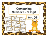 Comparing 4 Digit Numbers - Task Cards