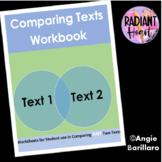 Comparing ANY Two Texts Workbook - Senior High School English
