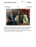 Comparing Absolute Monarchs:  Peter the Great and Louis XIV
