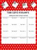 QR Code Fraction Word Problem Task Cards