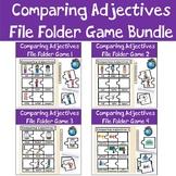 Comparing Adjectives File Folder Game Bundle