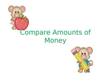 Comparing Amounts of Money