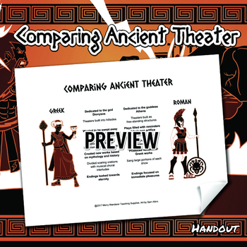 Comparing Ancient Theater Handout