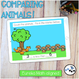 Comparing Animals DIGITAL Eureka Math Mod 3 Topic G Center