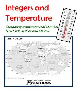 Comparing Annual Temperatures of Various Cities