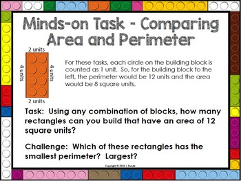 Comparing Area and Perimeter