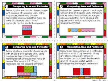 Comparing Area and Perimeter