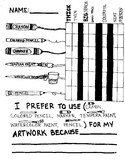 Comparing Art Materials