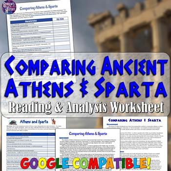 the history of athens and sparta While sparta and athens both developed formidable land and sea forces at different stages in their history, each dominated in one particular arm of the military sparta was in the peloponnesus, south of athens.