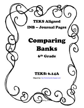 Comparing Banks INB TEKS 6.14A
