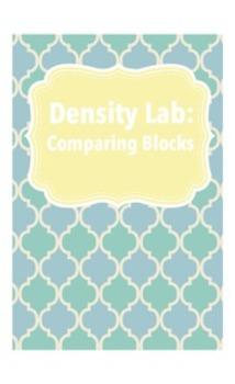 Comparing Blocks (density Lab)