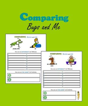 Comparing:  Bugs and Me