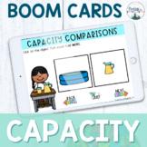 Comparing Capacity - Kindergarten Boom Cards