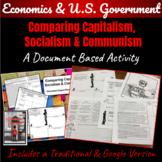 Comparing Capitalism, Socialism & Communism ~Document Based Student Activities~