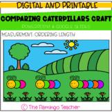 Comparing Caterpillars Craft: Ordering Length (First Grade
