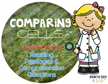 Comparing Cells Differentiated Nonfiction Reading Passages