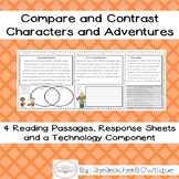Comparing Characters and Adventures Packet
