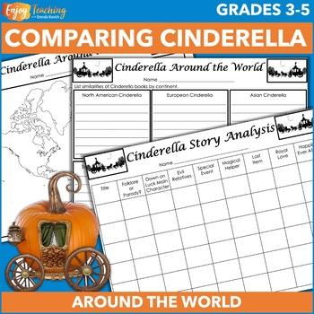 Comparing Cinderella Stories Worksheets & Teaching Resources