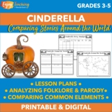 Comparing Cinderella Around the World Lesson Plans and Activities
