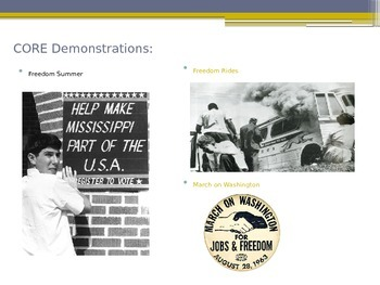 Power Point over Comparing Civil Rights Groups