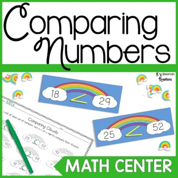 Greater Than and Less Than Math Center