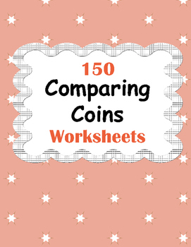 Comparing Coins Worksheets