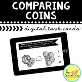 Comparing Coins Boom Cards {Distance Learning}