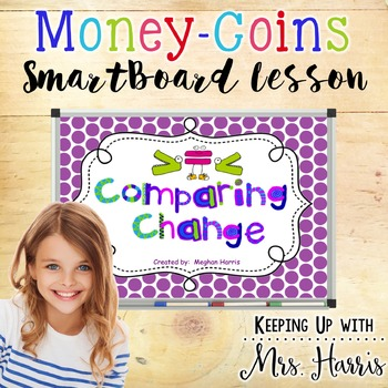 Counting and Comparing Change SmartBoard Lesson