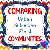 Communities - Urban, Suburban, and Rural