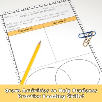 Comparing & Contrasting Interactive Notes and Worksheets