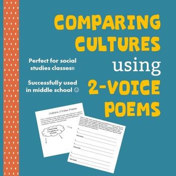 Comparing Cultures 2-Voice Poem