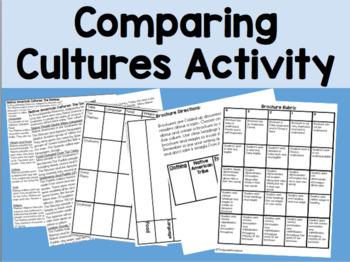 Comparing Cultures Social Studies Task